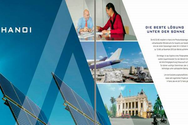 // Altus Erneuerbare Energien / Flyer