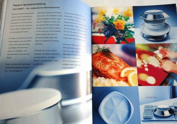 // Blanco / 36-Seiten Produkt-Broschüre