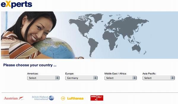 // Lufthansa Experts / Online-Portal
