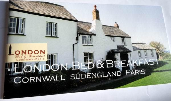 // London Bed & Breakfast / 20-Seiten Image-Broschüre