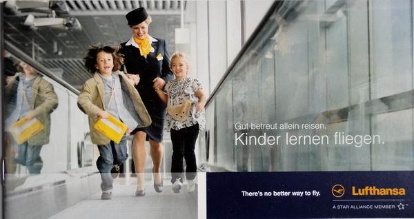 // Lufthansa / Service-Broschüren