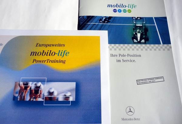 // Trainings-Material für das Mobilo-Händlertraining