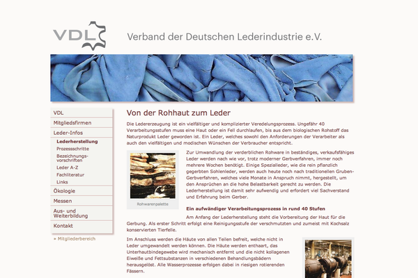 // VDL Verband der Deutschen Lederindustrie