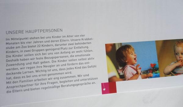 // Haus der Volksarbeit / Krabbelstuben-Flyer
